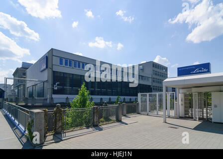 Pullach im Isartal: Linde AG, headquartered in the Gas and Engineering division, Oberbayern, Upper Bavaria, Bayern, - Stock Photo