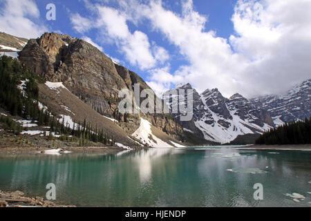 hill, mountains, america, dreams, canada, evergreen, fir, harmony, national, - Stock Photo