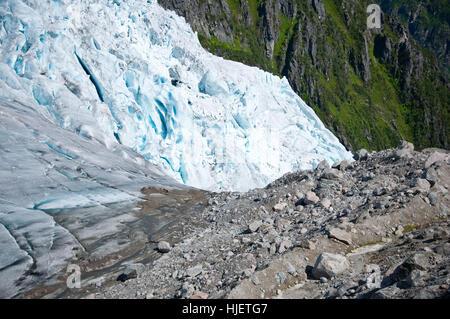 mountains, hike, go hiking, ramble, norway, glacier, abyss, mountain world, - Stock Photo