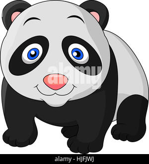 mammal, cub, baby, panda, wild animal, cartoon, maddening, pert, coquettish, - Stock Photo