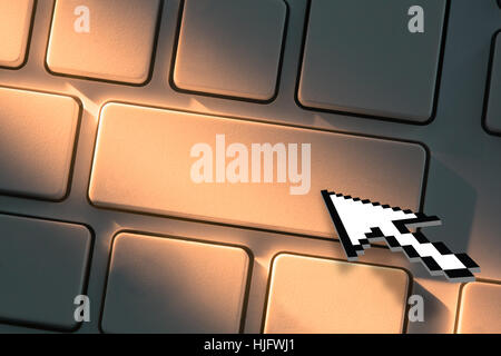 Close Up On Arrow Clicking On Keyboard Stock Photo 66969235 Alamy