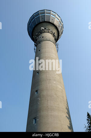 puijo tower in kuopio - Stock Photo