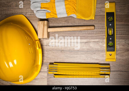board, tools, model, design, project, concept, plan, draft, closeup, industry, - Stock Photo