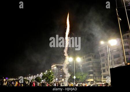 fireworks, diwali, rocket - Stock Photo
