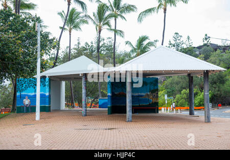 ... Shelter on the Picnic Bay Foreshore Magnetic Island Queensland Australia - Stock Photo & Picnic Bay Foreshore Magnetic Island Queensland Australia Stock ...