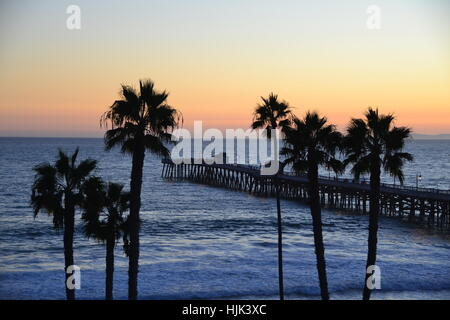 San Clemente Sunset - Stock Photo