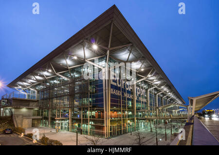 Euroairport Terminal, Basel Mulhouse,  Muellhausen, Freiburg - Stock Photo