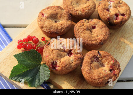 pastry, bake, berry, currant, muffin, pastry, fruit, cake, pie, cakes, berries, - Stock Photo