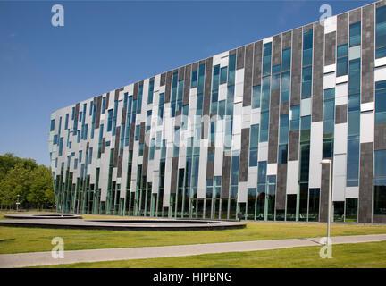 glass, chalice, tumbler, office, education, build, modern, modernity, future, - Stock Photo