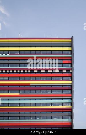 office, education, build, modern, modernity, window, porthole, dormer window, - Stock Photo