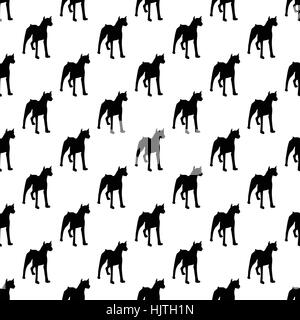 Dog pattern seamless best for any design - Stock Photo