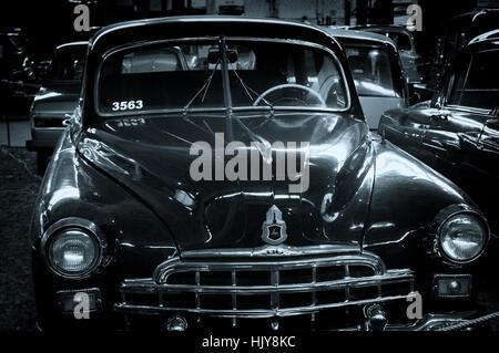 Illustrations Gaz Zim Year Classic Cars Stock Photo