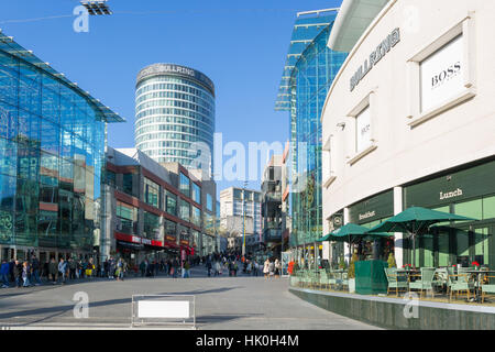 The Bullring Shopping Centre, Birmingham, West Midlands, England, United Kingdom - Stock Photo