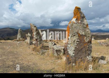 Prehistoric archaeological Karer site of Zorats, Sisian, Syunik Province, Armenia, Caucasus