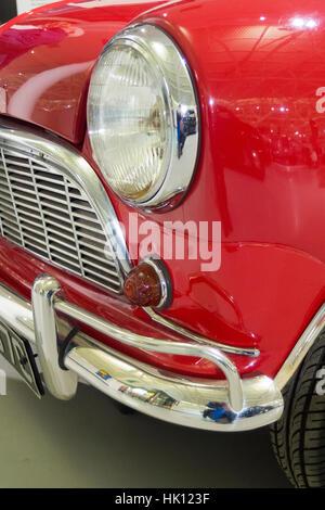 Morris Mini Traveller Mark One Estate Car ( Austin Mini Countryman Version Very Similar ), UK - Stock Photo