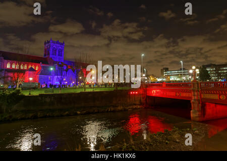 Paisley, Scotland. 25th January, 2017. Paisley once is the sole UK start point for the 2017 Monte Carlo Rally © - Stock Photo