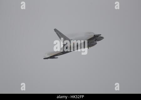 Italian Air Force Eurofighter Typhoon F-2000A - Stock Photo