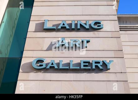 Laing Art Gallery, Newcastle upon Tyne, England, UK - Stock Photo