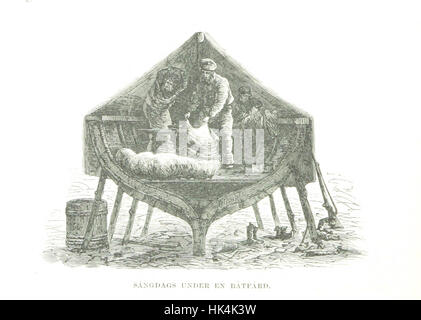Image taken from page 126 of 'Svenska Polar-Expeditionen år 1868 med kronoåufartyget Sofia. Reseskizzer, etc' - Stock Photo