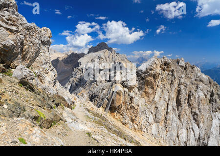 blue, beautiful, beauteously, nice, travel, park, stone, tourism, dolomites, - Stock Photo