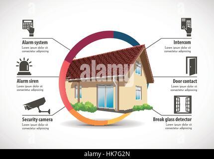 House Construction - home building concept - Stock Photo