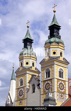 cathedral, south tyrol, basilica, italy, church, cathedral, south tyrol, - Stock Photo