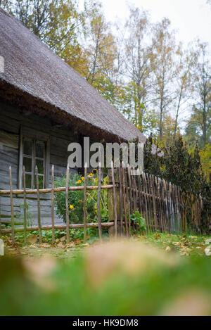 Latvian Ethnographic Open Air Museum - Stock Photo