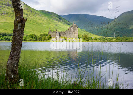 Kilchurn Castle, Loch Awe, Argyll & Bute, Scotland - Stock Photo