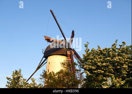 View on Skerries Mills, Ireland - Stock Photo