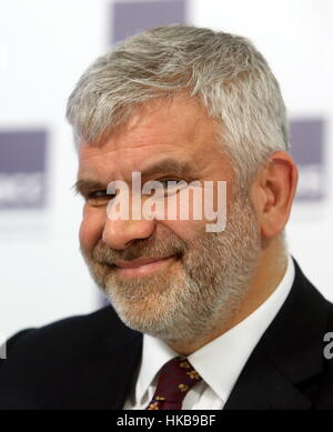 Moscow, Russia. 27th Jan, 2017. Michael Bird, director of the British Council in Russia, at a press conference at - Stock Photo