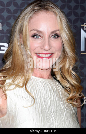 Los Angeles, Ca, USA. 27th Jan, 2017. Tracy Pollan at The NHL100 Gala at the Microsoft Theater in Los Angeles, California - Stock Photo