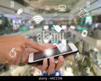 internet of things agriculture concept,smart farming,industrial agriculture,farmer use technology to control,monitor,management - Stock Photo