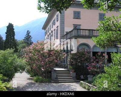 Botanical garden Isole die Brissago Ticino Switzerland CH - Stock Photo