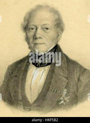 Frans Alexander van Rappard door Anthony Everhardus Grolman - Stock Photo
