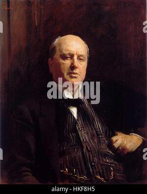 James, Henry (1843 1916)  1913  by Sargent, John Singer (1856 1925) - Stock Photo