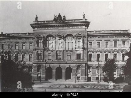 Koenigl Konservatorium Leipzig um 1910 - Stock Photo
