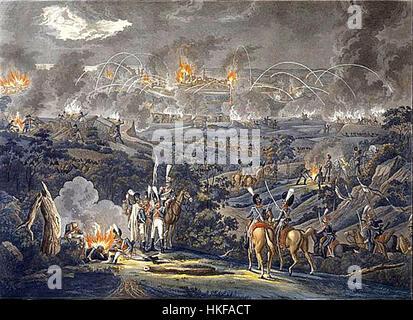 Siege of Danzig 1807 - Stock Photo