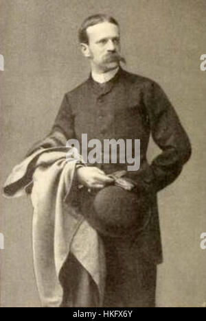 Fritz von Uhde, young - Stock Photo