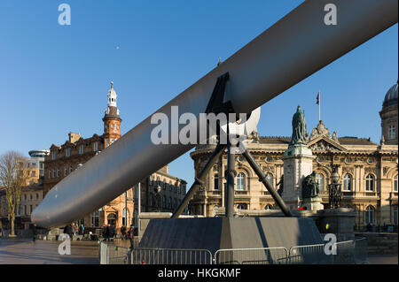 Hull City of Culture The blade  by nayan kulkarni - Stock Photo