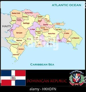 Dominican Republic Santo Domingo Merengue Dancers Stock Photo