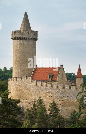 Kokorin Castle in Central Bohemia, Czech Republic, Europe