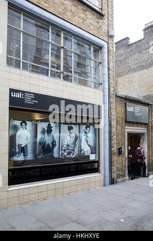 University of the Arts London College of Fashion in Curtain Road Shoreditch, East London - Stock Photo
