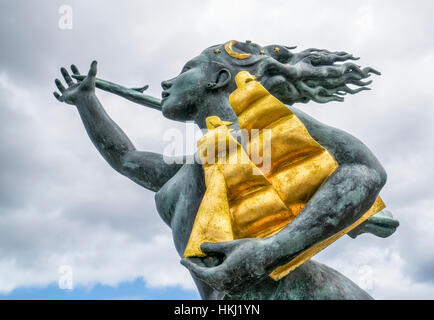 Spirit of South Shields sculpture; South Shields, Tyne and Wear, England - Stock Photo