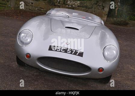A Modern Replica Bristol Cars Race Car Stock Photo Royalty Free