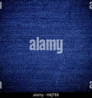 empty blue indigo jeans denim texture background design pattern - Stock Photo