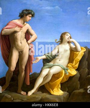 Bacchus and Ariadne by Guido Reni - Stock Photo