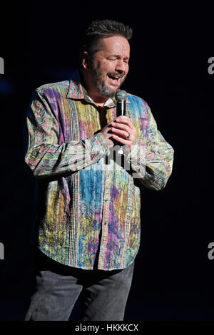 Fort Lauderdale FL, USA. 28th Jan, 2017. Terry Fator performs at The Broward Center on January 28, 2017 in Fort - Stock Photo
