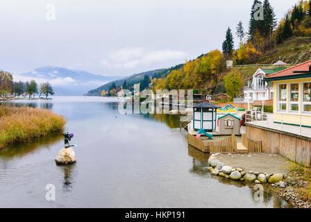 Seeboden: Millstätter See (Lake Millstatt), , Kärnten, Carinthia, Austria - Stock Photo