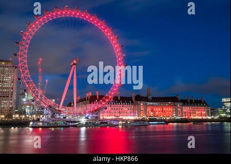 The London Eye - Stock Photo