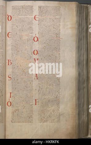 CodexGigas 163 Psalms - Stock Photo